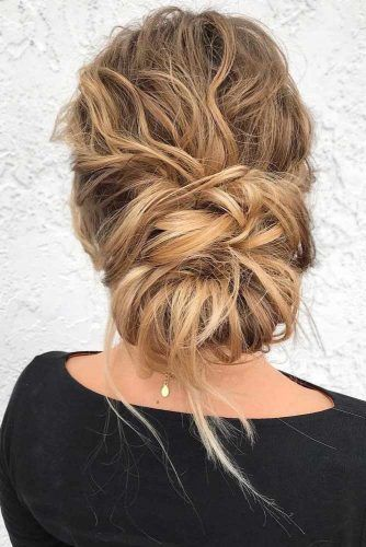 Chic Updos For Blonde Hair #blondehair #updo