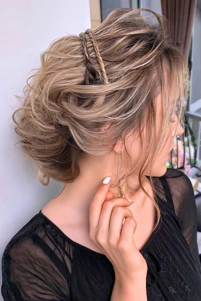 Chic Updos For Blonde Hair Braids #blondehair #darkblonde