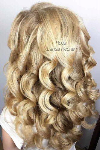 Curly Dark Blonde Hair picture3