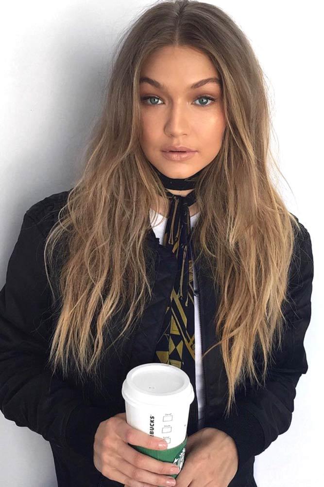 Layered Long Blonde Hair