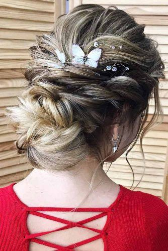 Special Hairstyles For Dark Blonde Hair #updo #blondehair