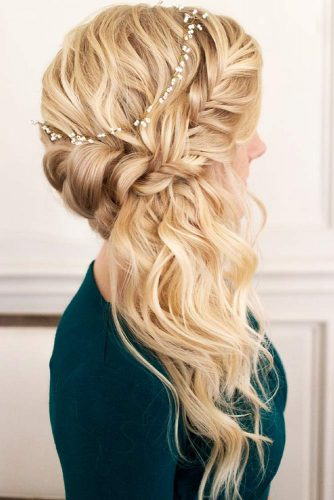 Half-Up Ideas French #braids #halfup #headband