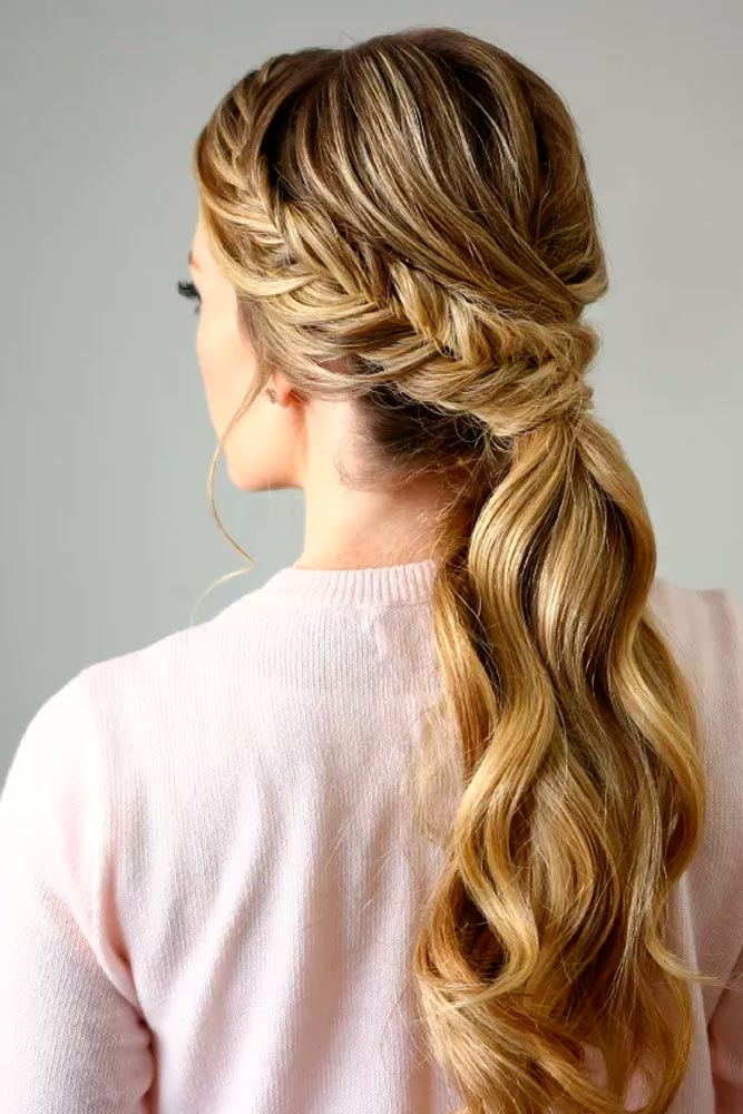 Lovely Fishtail with a Ponytail - Try Right Now