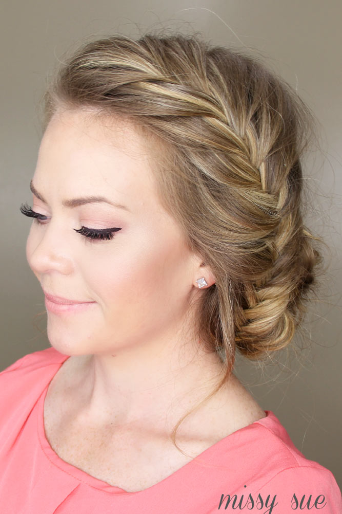 Creative, Messy Braided Style