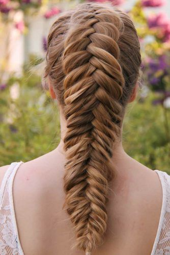 Big Dutch Fishbone Braid #braids