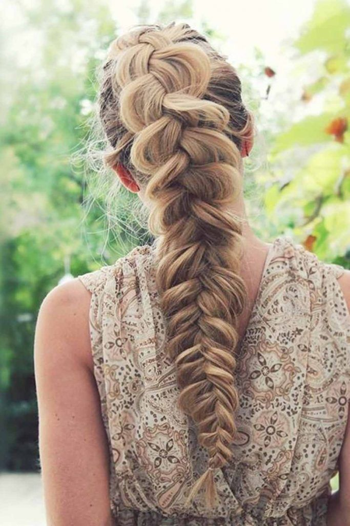 Mile Long Braid Hairstyle