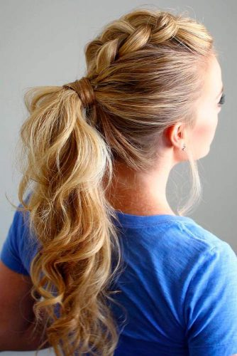 Nice Ponytail Hairstyles for Holiday picture1