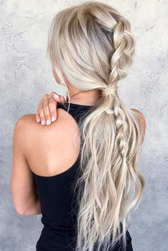 Nice Ponytail Hairstyles for Holiday picture2