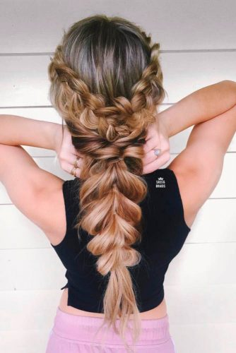 Loose Five-Minute Hairstyles with Braids picture1