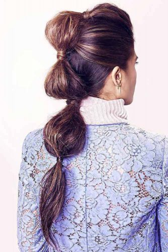 Bubbles Braid Hairstyles #braids #fauxhawk
