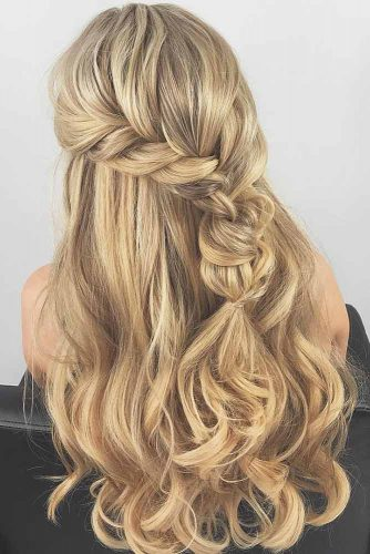Half Up Half Down Simple Hairstyles picture2