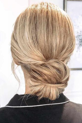 Roll Simple Low Buns #updo #bun