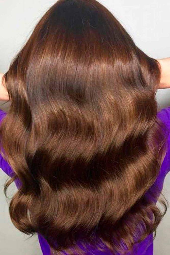 Long Wavy Hairstyle #longhair #longhairstyles