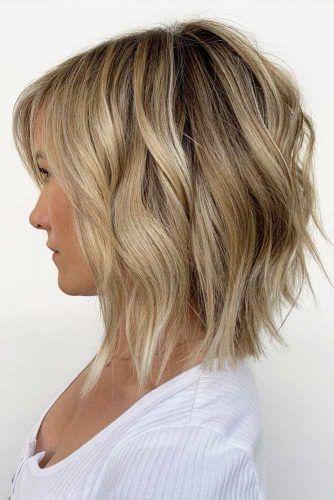 Inverted Long Bob #haircutsforsquarefaces #hairstylesforsquarefaces