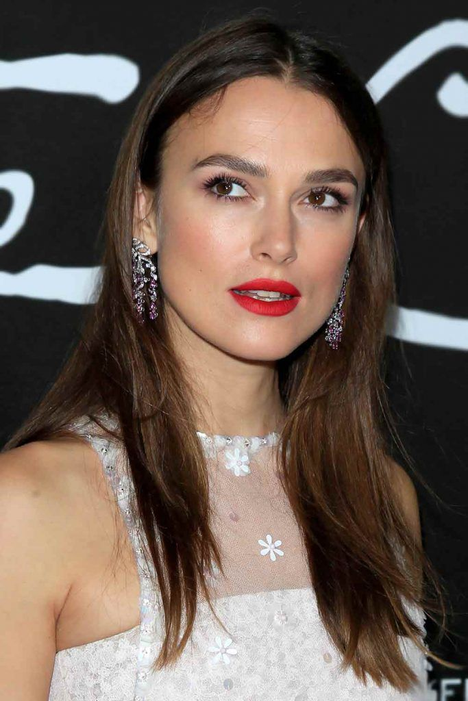 Keira Knightley #haircutsforsquarefaces