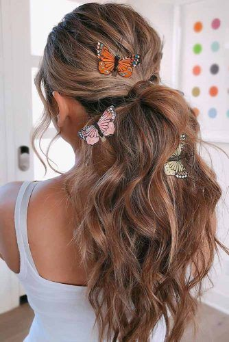 Butterflies Accessories Pony #holidayhair #holidayhairaccessories #accessories