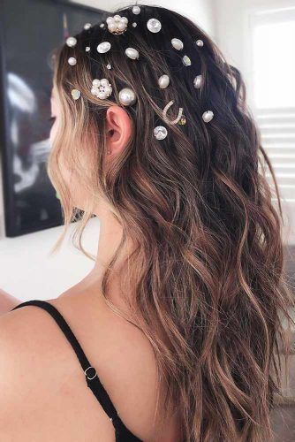 Scattered Head Pieces Waves #holidayhair #holidayhairaccessories #accessories