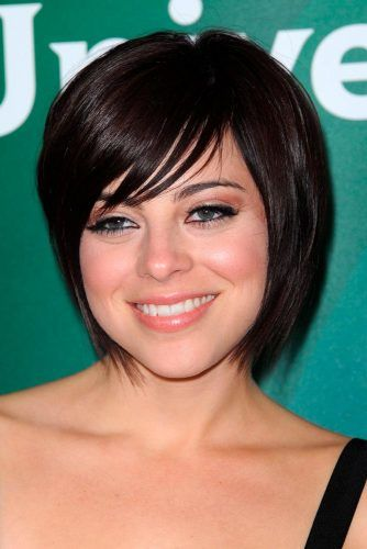 Krista Rodriguez Short Layered Bob