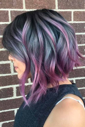 Attractive Purple Hair Color Ideas picture 1