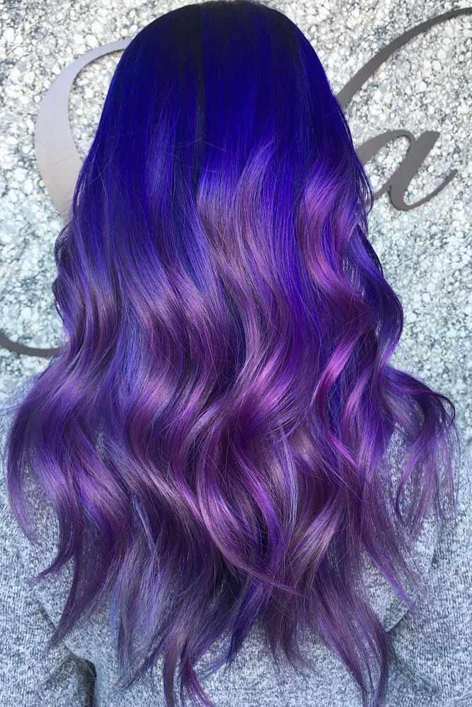 Dark Purple Hair Ombre picture1