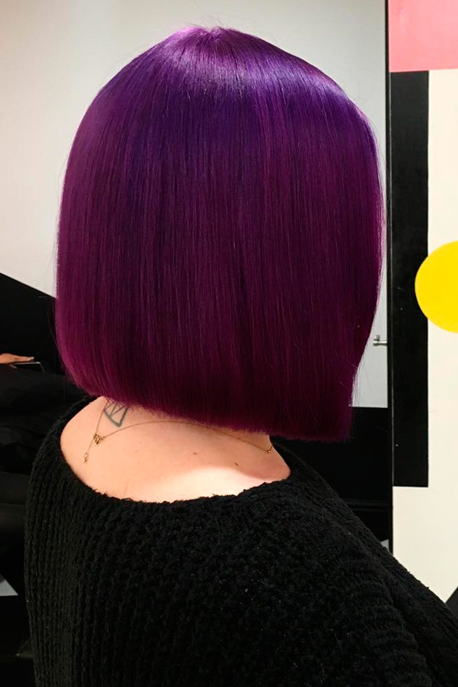 Attractive Purple Hair Color Ideas picture 2