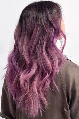 Cute Purple Hair Looks picture 3