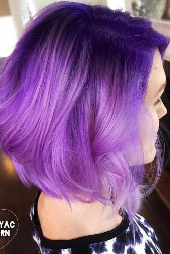 Cool Purple Hair for Brave Girl picture 2