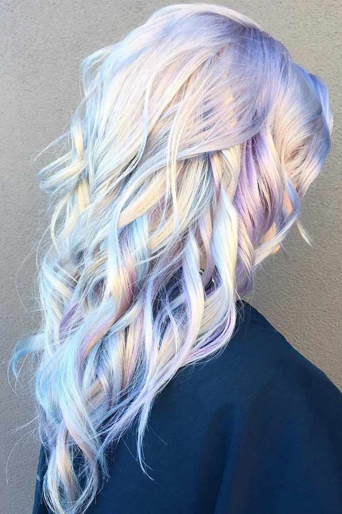Light Purple Hair for Romantic Look picture 1