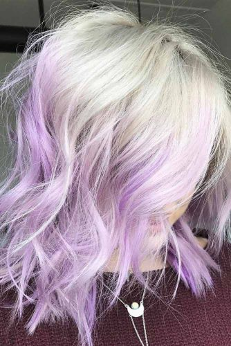 Light Purple Hair for Romantic Look picture 2