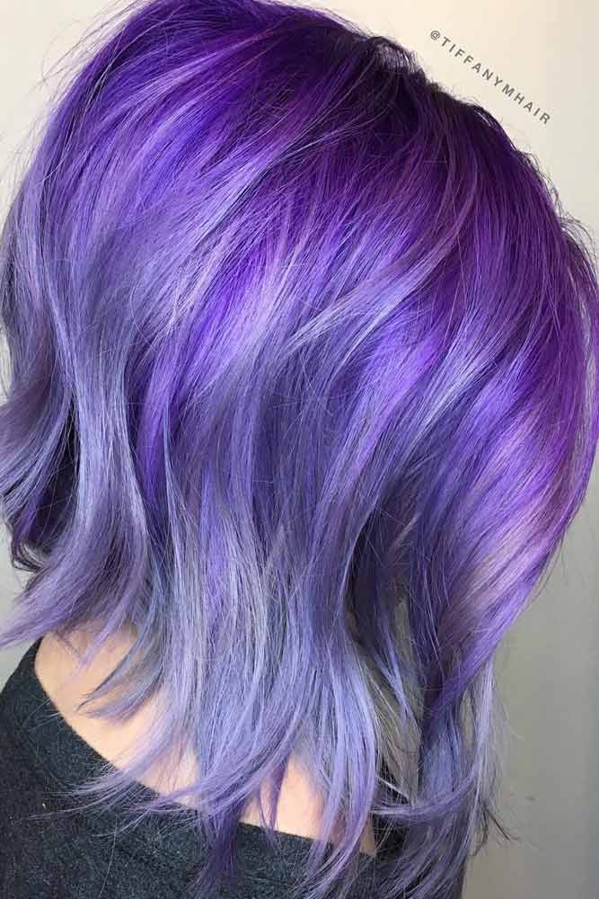 Light Purple Hair for Romantic Look picture 3