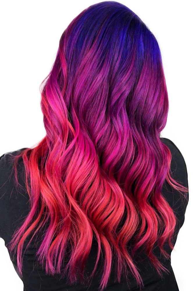 68 Tempting And Attractive Purple Hair Looks | LoveHairStyles.com