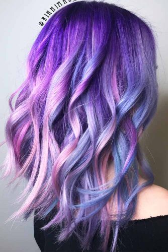 Blue And Purple Mermaid