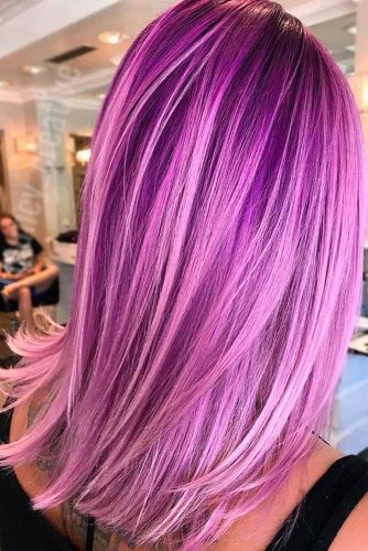 Amazing Light Purple Hair Color picture1