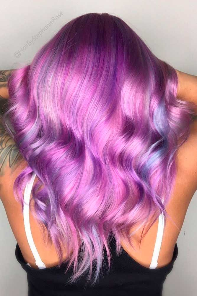 Amazing Light Purple Hair Color picture3