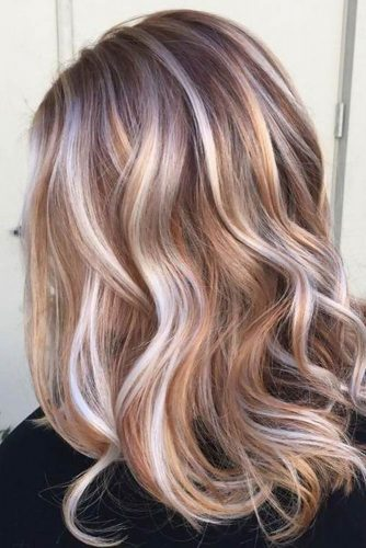 hair color with highlights light brown hair color high lowlights lovehairstyles 31037