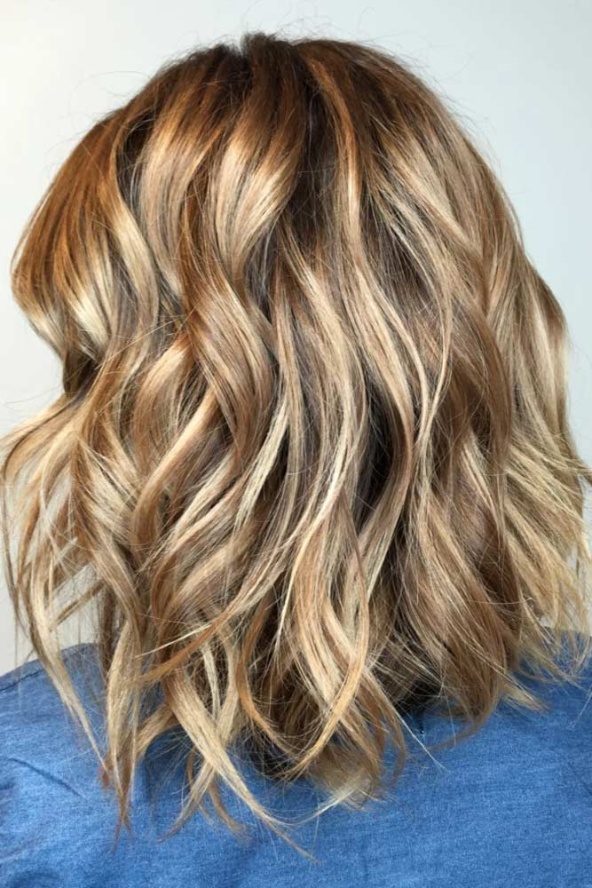 Chic Light Brown Hair Color picture3