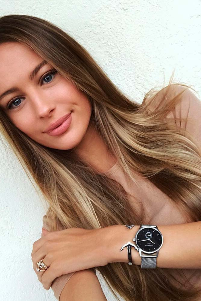 Cute Light Brown Hair Color Ideas picture3