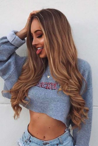 Amazing Light Brown Hair Color picture2