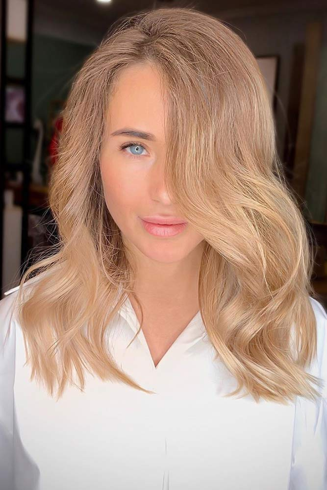 Light Beige Soft Balayage #lightbrownhair #brownhair
