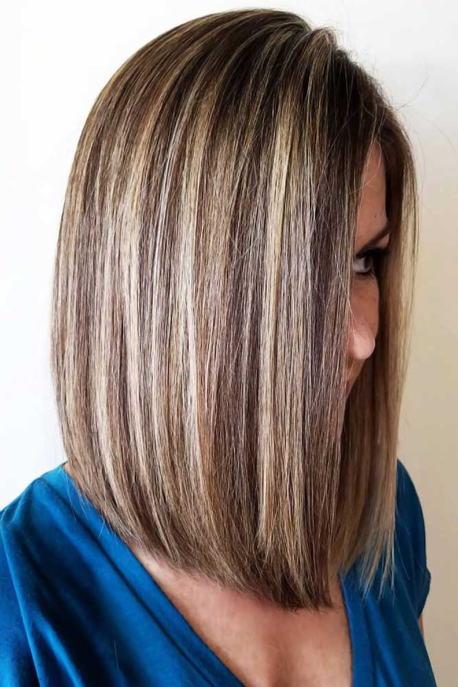 Chunky Highlights Chocolate#brownhair #highlights