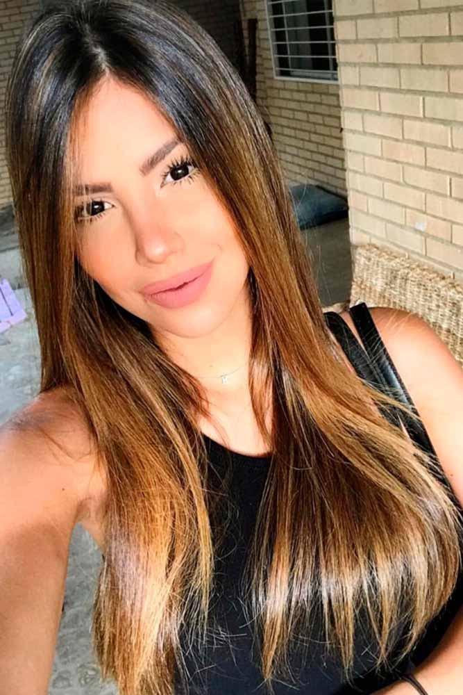 Popular Balayage on Light Brown Hair picture2