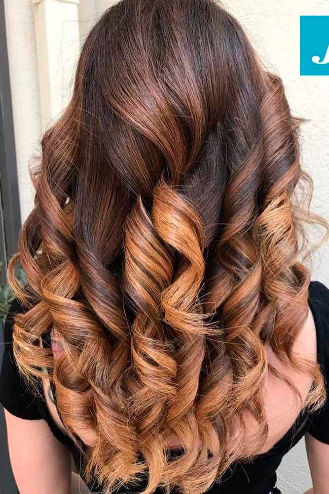 Popular Balayage on Light Brown Hair picture1