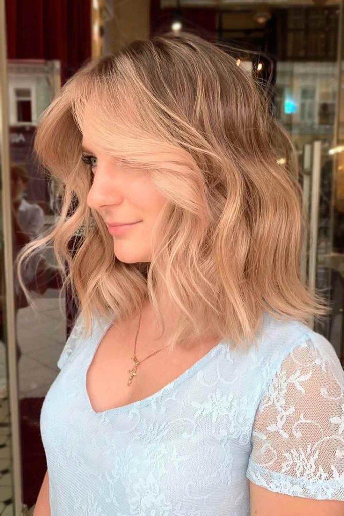 Cute Light Brown Hair Color Ideas Bob #brownhair #lightbrownhair