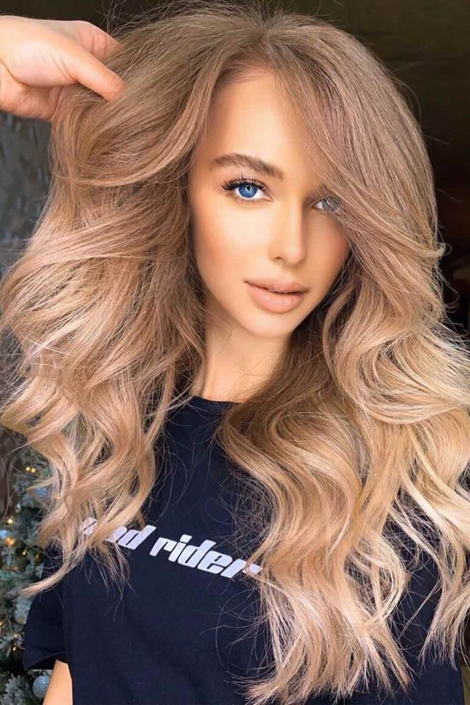 Light Brown Hair With Sandy Highlights #brownhair #lightbrownhair