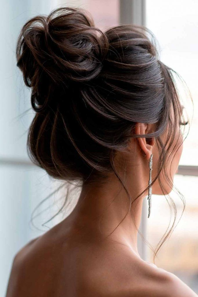 The Easiest Top Knot Hairdos