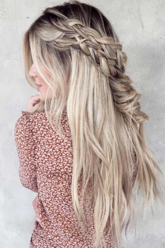 Half Up Braided Hairstyles picture2