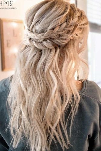 Half Up Braided Hairstyles picture1