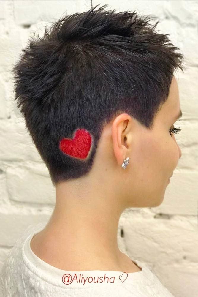 Creative Hair Ideas For A Pixie Hairstyle #pixiecut #haircuts