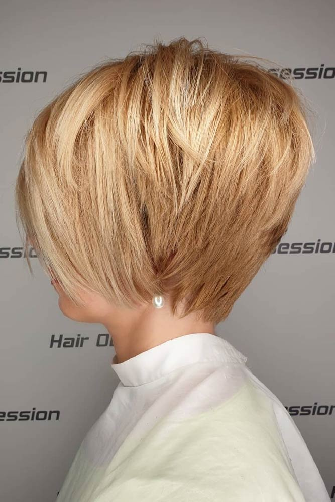 Grown Out Straight Golden Pixie #pixiecut #haircuts