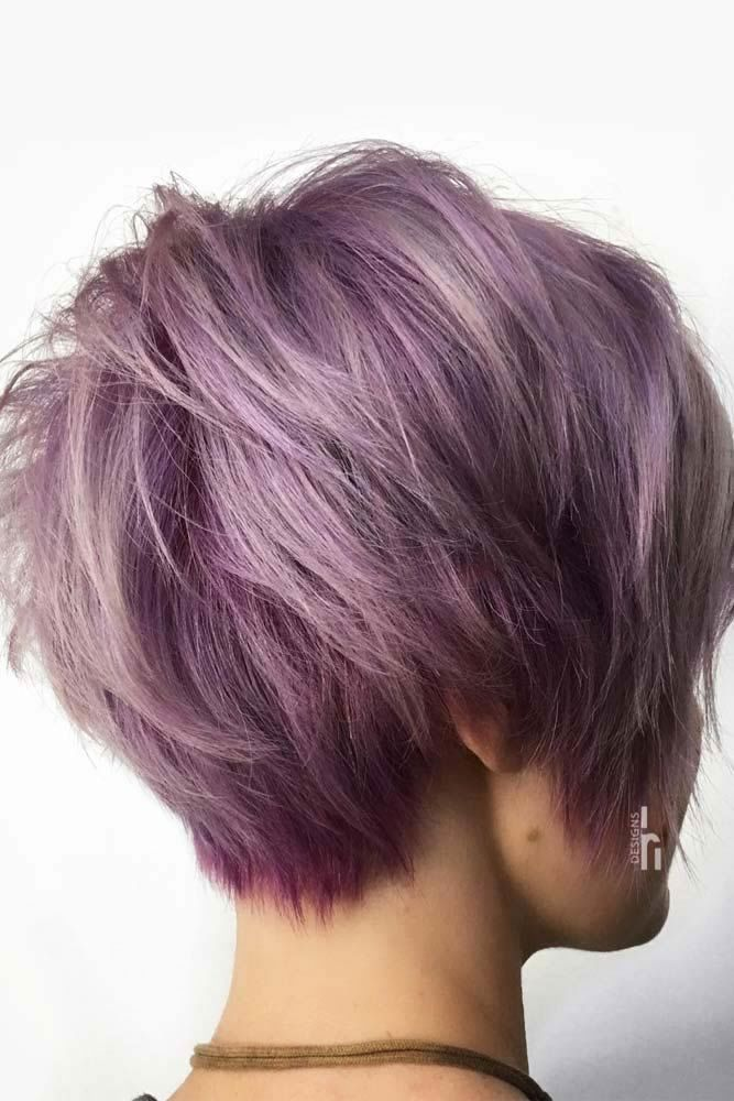 Violet Long Pixie Cut #pixiecut #haircuts